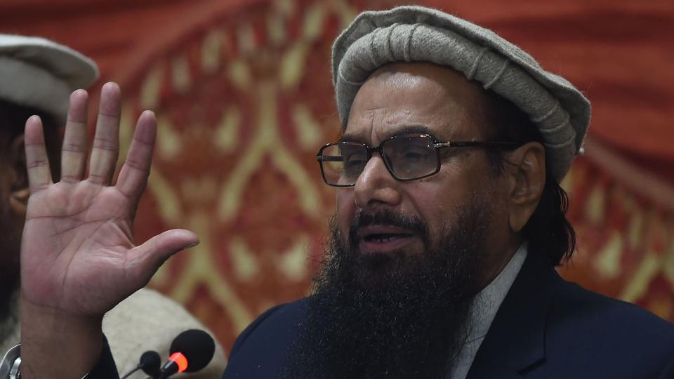 Last month, the NIA filed charges against  separatist leaders for allegedly conspiring with Lashkar chief Hafiz Saeed (in pic) and Syed Salahuddin to wage war against India and secede Jammu and Kashmir.