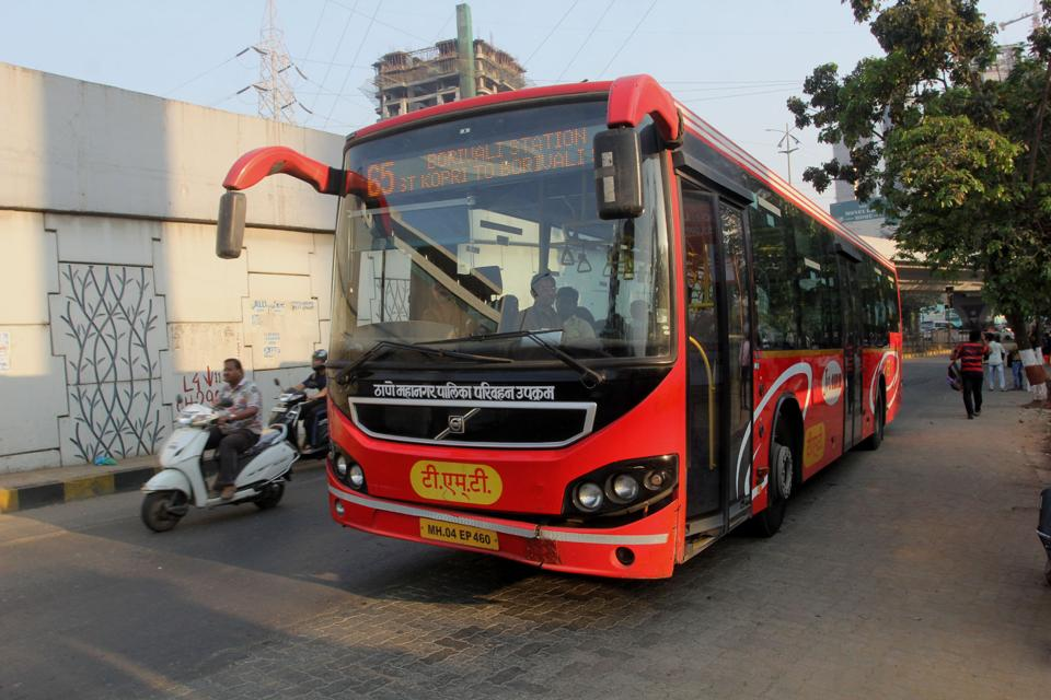 TMT started the AC bus service after BEST stopped its service