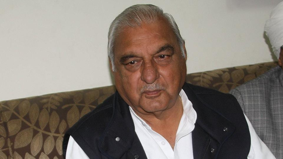 CBI files chargesheet against ex-Haryana CM Hooda in land deal case