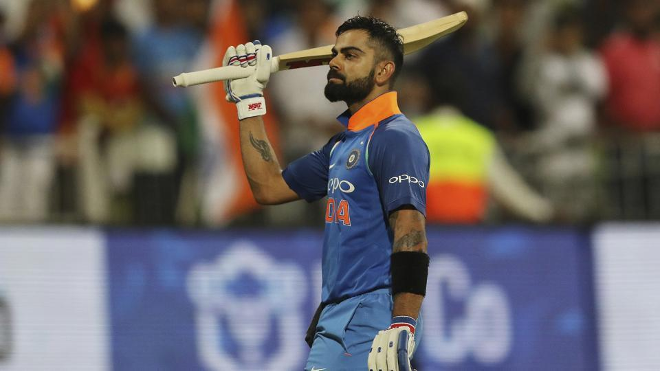 Indian cricket team captain Virat Kohli acknowledges the crowd after losing his wicket during the first ODI against South Africa at the Kingsmead Stadium in Durban on Thursday.