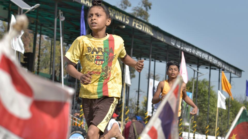 The 82nd edition of the Kila Raipur three-day annual sports festival, popularly known as Rural Olympics kicked off on Friday. (Gurpreet Singh/HT)