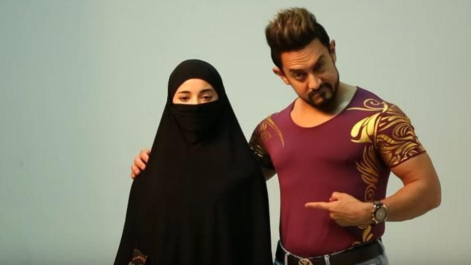 Aamir Khan plays the mentor to Zaira Wasim's character in Secret Superstar.