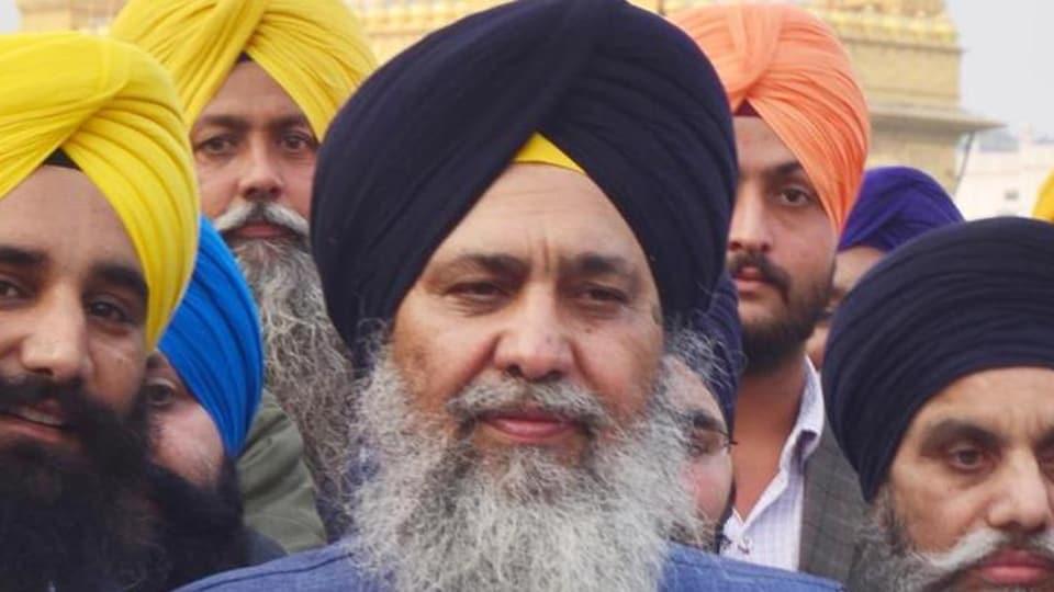 Shiromani Gurdwara Parbandhak Committee president Gobind Singh Longowal.(HTFile)