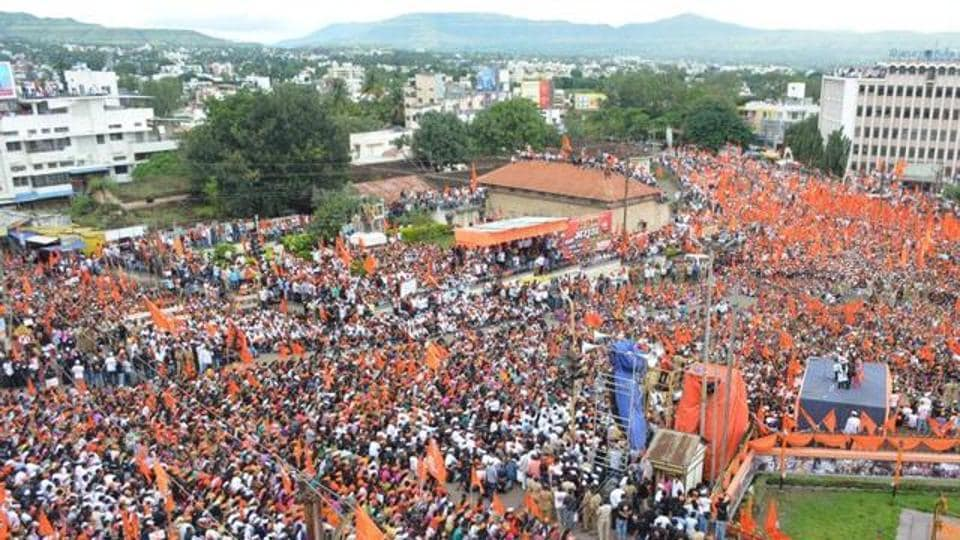 The Maratha community outfits took out massive protest marches in major cities in the state from August 9, 2016 to August 9, 2017.