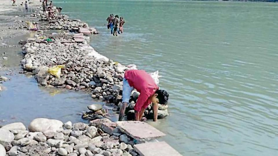 The efforts to clean the Ganga were launched in 1986. The water quality has improved on two of three key parameters.