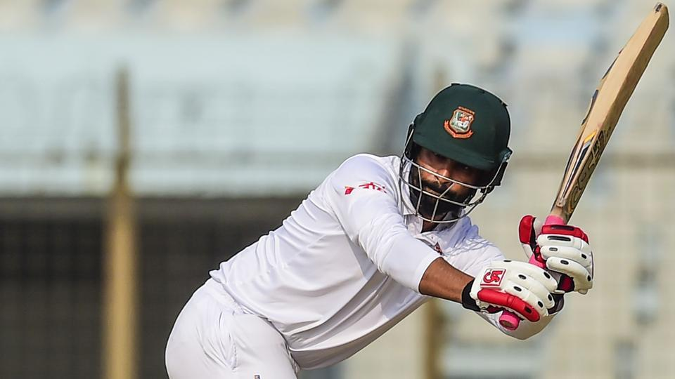 Bangladesh cricketer Tamim Iqbal bats during the fourth day of the first cricket Test between Bangladesh and Sri Lanka at Zahur Ahmed Chowdhury Stadium in Chittagong on February 3, 2018. Get full cricket score and highlights of Bangladesh vs Sri Lanka, 1st Test, day 4 in Chittagong.