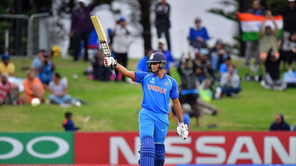 Kalra completed his century towards the end as India comfortably won by eight wickets. (AFP)