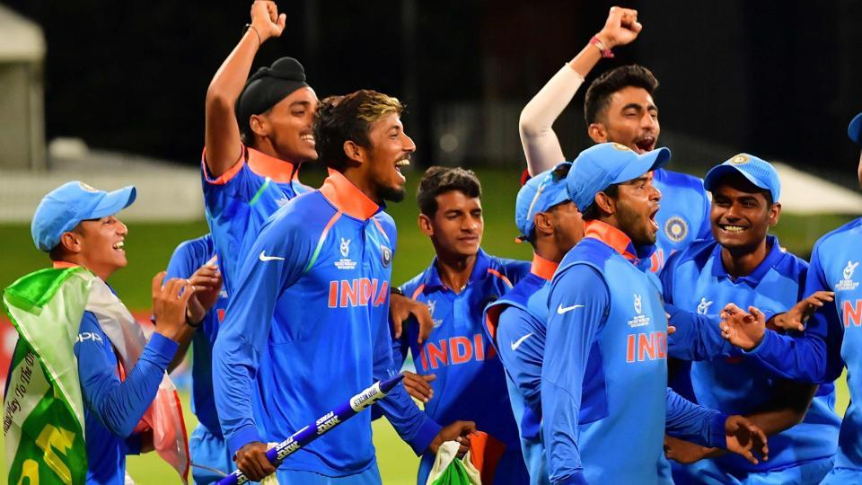 This is India's fourth Under-19 Cricket World Cup title, the highest by any country. (AFP)