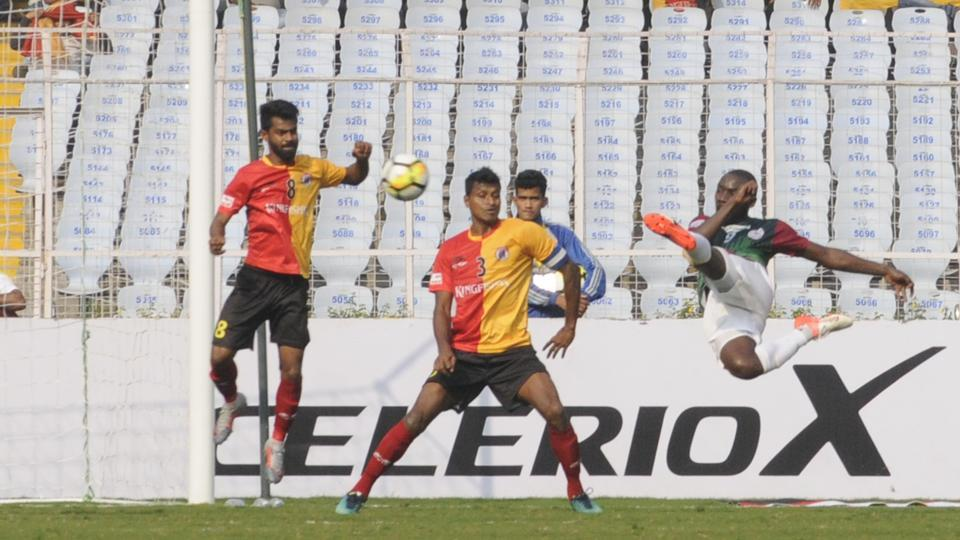 East Bengal are still smarting from their loss to Mohun Bagan in the I-League.