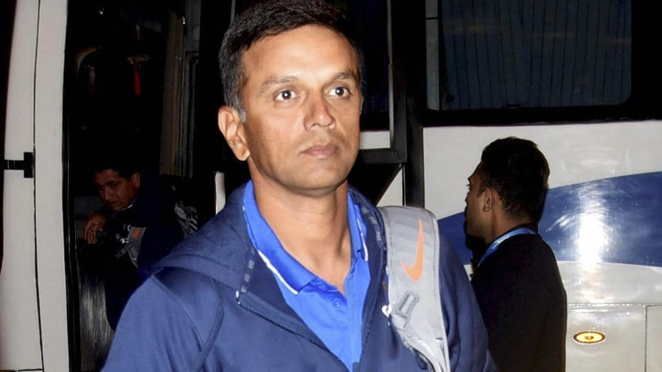 Rahul Dravid led the Indian team to the ICC U-19 Cricket World Cup 2018 title in New Zealand on Saturday.