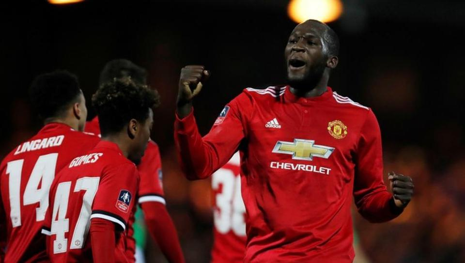 Romelu Lukaku has scored 11 Premier League goals in 24 games with four more in the Champions League and two in the FA Cup for Manchester United.