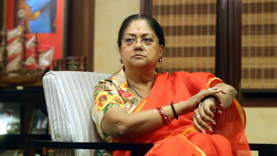 It is unlikely the BJP will try to look beyond Raje, and risk the possibility that she may break the party, but both the central and the state leadership of the party will look at the by-poll verdict as a sort of wake-up call (Himanshu Vyas\HT)