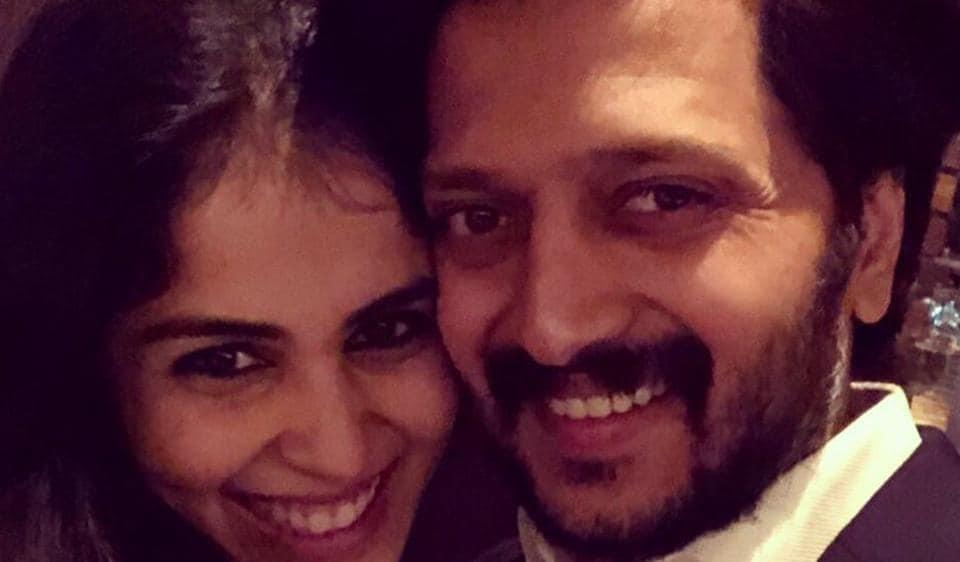 Riteish Deshmukh and Genelia celebrate their sixth wedding anniversary on Saturday.