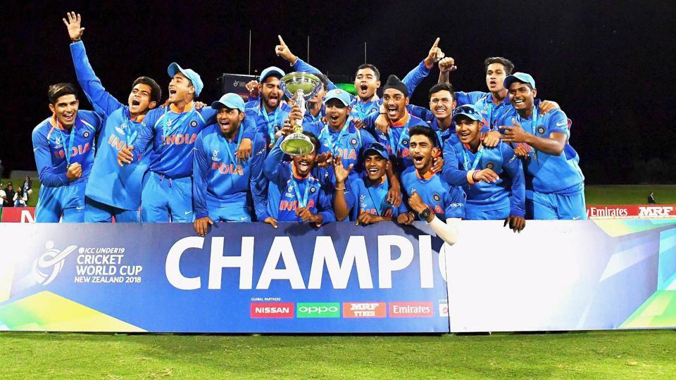 India eased to victory over Australia in the ICC Under-19 Cricket World Cup final on Saturday and coach Rahul Dravid was delighted for his players. (PTI)