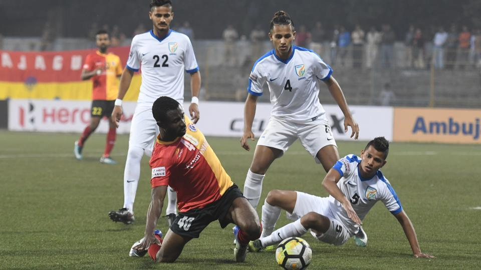 East Bengal beat Indian Arrows 1-0 in the I-League.