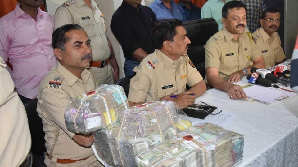 Of the total stolen amount, Rs.74,50,000 was recovered by the police.