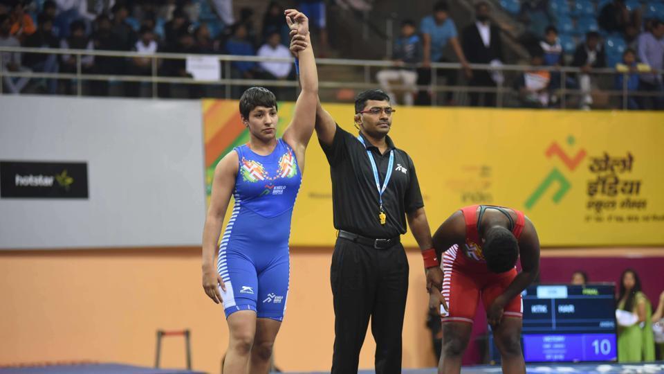 Khelo India Games,Wrestling,Haryana