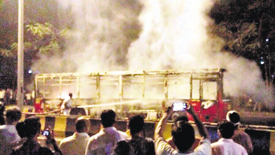 Mumbai,Navi Mumbai,fire