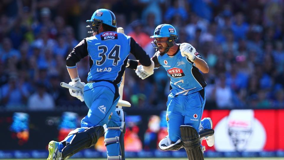 Big Bash League,Adelaide Strikers,Hobart Hurricanes