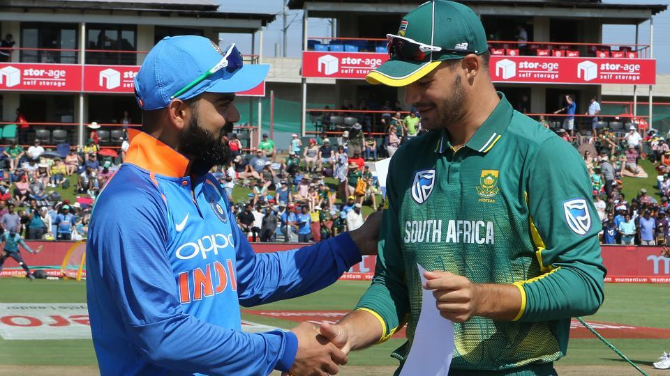 Virat Kohli won the toss and opted to bowl in the 2nd ODI. Aiden Markram became the second youngest captain for South Africa. (BCCI)
