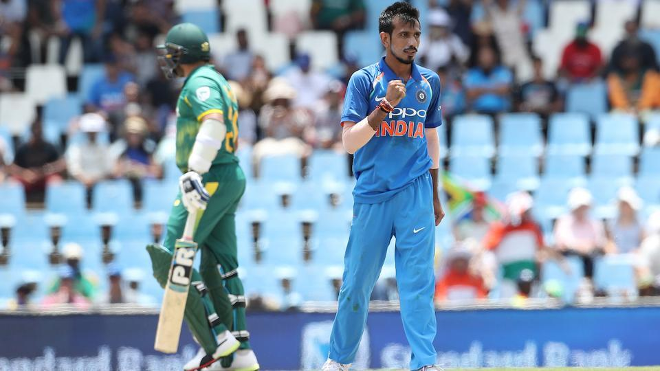 But Yuzvendra Chahal turned out to be the man of the day. He picked up career-best figures of 5/22 to bowl out South Africa for 118, their lowest ODI total at home and second lowest against India. (BCCI)