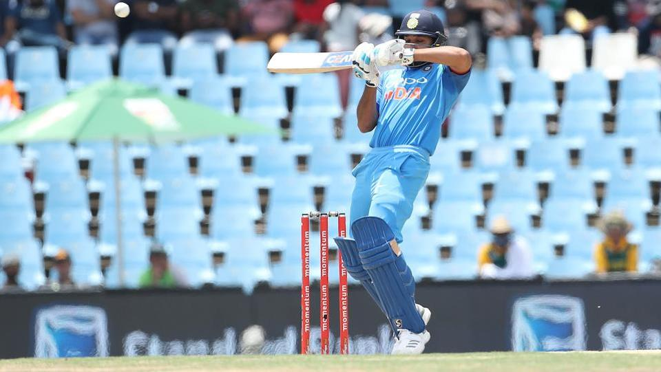 India did not start well, losing opener Rohit Sharma early on. (BCCI)
