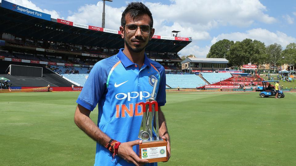 Yuzvendra Chahal was named Man of the Match for his superb bowling performance on Sunday. (BCCI)