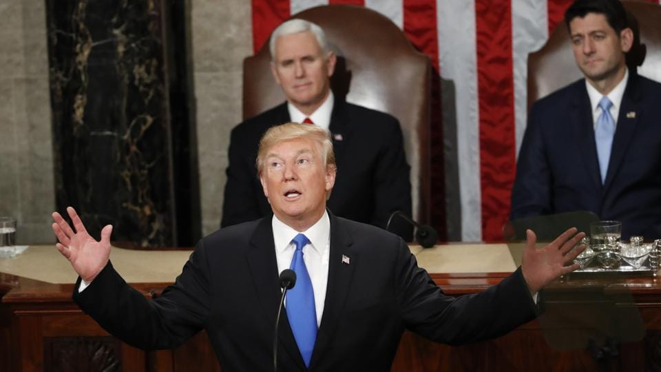 Donald Trump,North Korea,State of the Union address