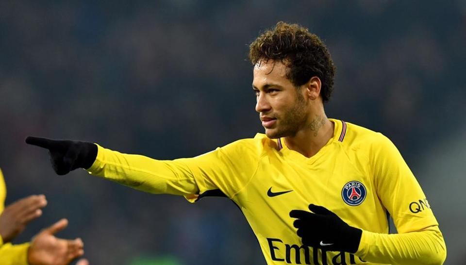 Neymar left FC Barcelona in August when Paris Saint-Germain paid his release clause, making him the world's most expensive player at €222 million.