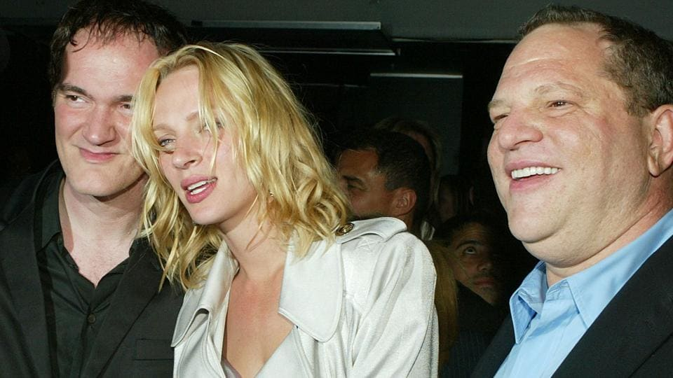 Uma Thurman,Harvey Weinstein,Quentin Tarantino