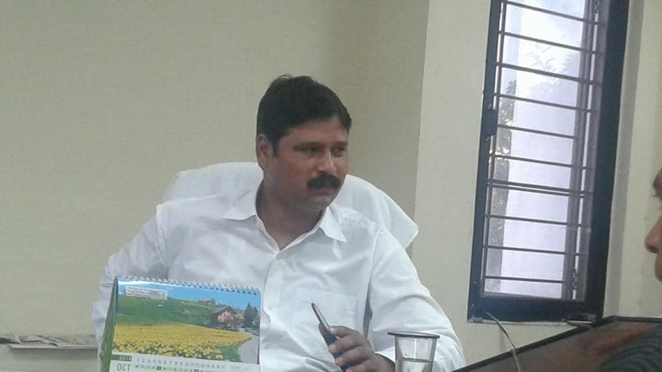 Haldwani Mayor Jogendra Rautela.