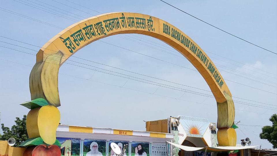 The skin bank was inside the Shah Satnam hospital on the dera campus in Sirsa.