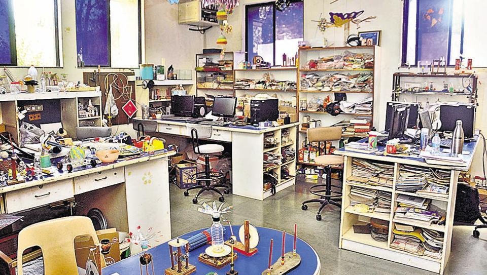 The Muktangan toy centre at IUCAA.