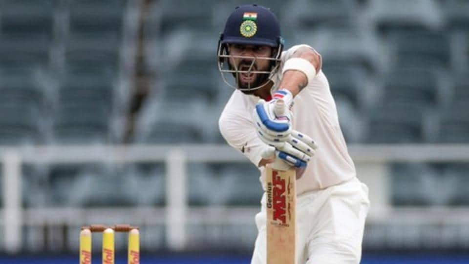 Virat Kohli conquered the Wanderers pitch by playing as near to his natural game as possible, picking off glorious off-side drives from time to time where most others could only defend and nudge.