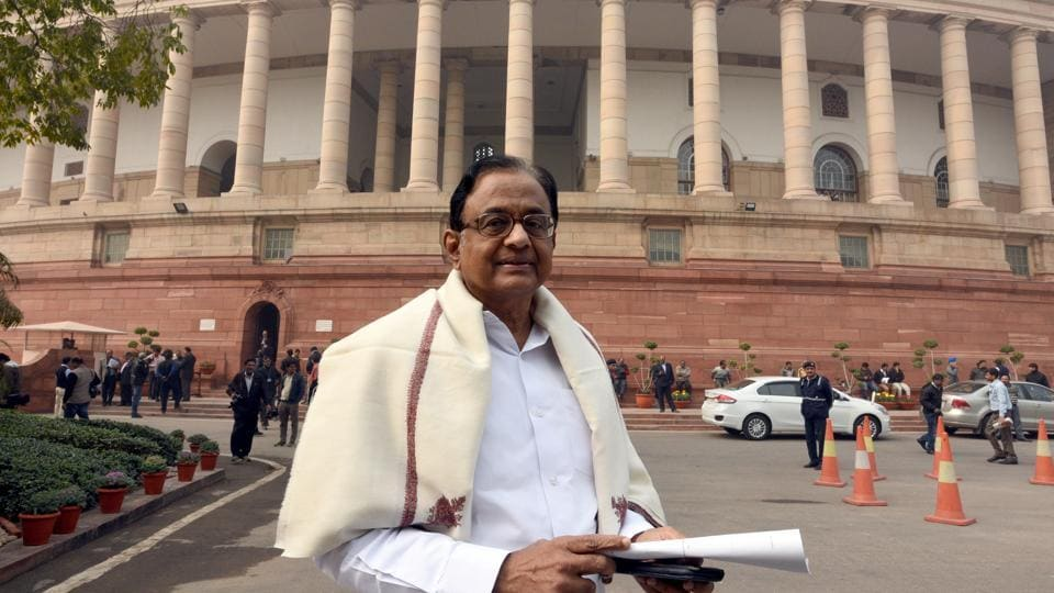 Senior Congress leader P Chidambaram has been critical about the NDA government's handling of the economy.