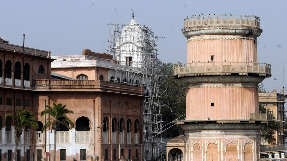 The restoration is being undertaken under the supervision of Indian National Trust for Arts and Cultural Heritage.