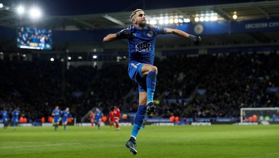 Leicester City's Riyad Mahrez has not trained with the club since he was stopped from securing a move away to Manchester City.