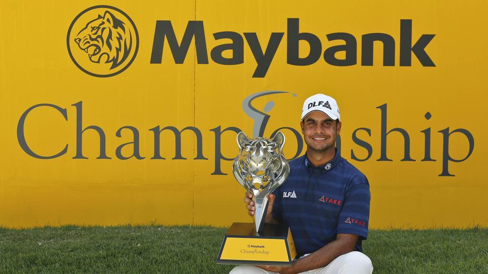 Shubhankar Sharma became the third Indian – after Jeev Milkha Singh and Anirban Lahiri – to win two European Tour events in the same season.