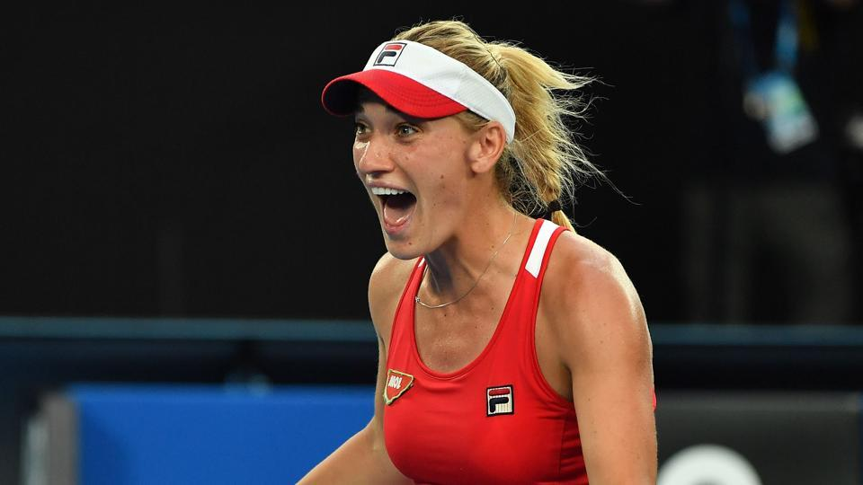 Timea Babos won in straight sets against Kateryna Kozlova of Ukraine to win the Taiwan Open title.