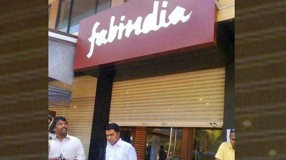 A Fabindia store in Goa. Fabindia described the notice as 'baseless' and denied any wrongdoing.