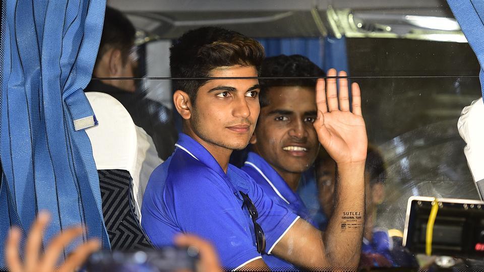 ICC U-19 Cricket world cup,Shubman Gill,Virat Kohli