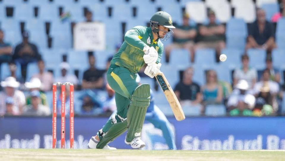 Quinton de Kock had sustained his wrist injury during South Africa's nine-wicket loss to India in the Centurion ODI.