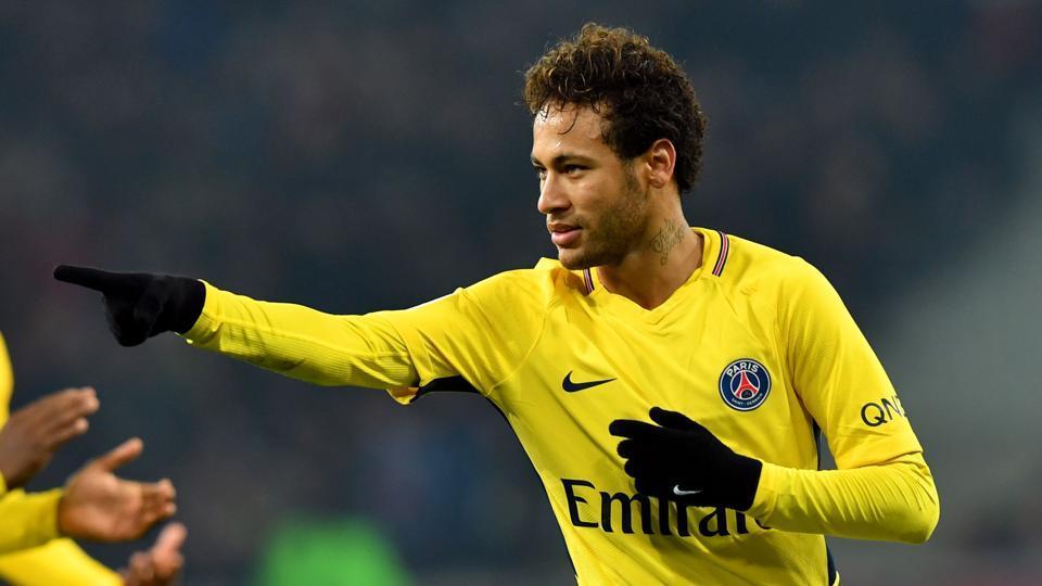 Paris Saint-Germain's Brazilian forward Neymar is turning 26 on Monday.