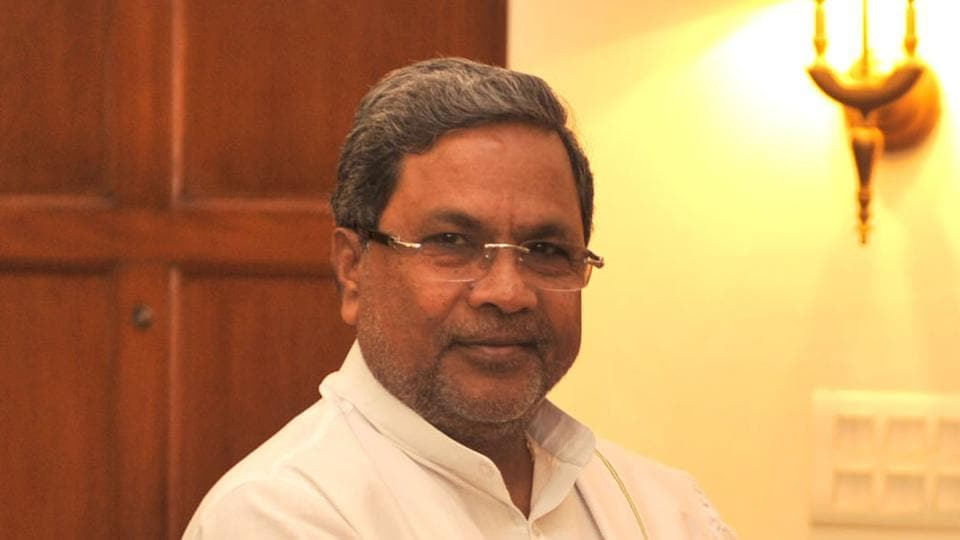 Siddaramaiah criticised Narendra Modi for failing to speak about farmers' problems at his rally in Bengaluru.