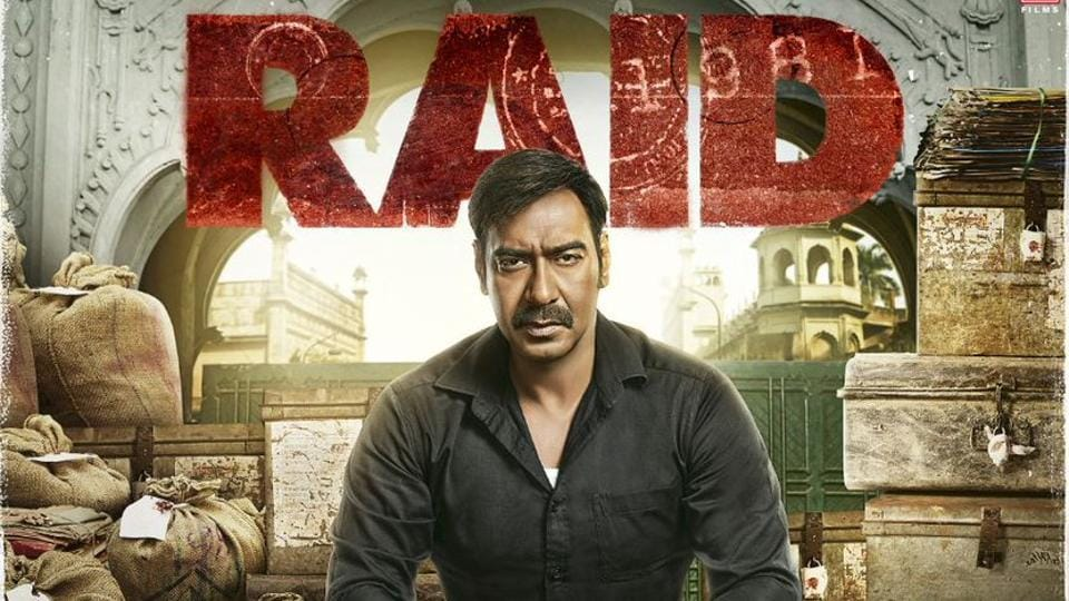 AjayDevgn now plays an upright Income Tax official in his next film,Raid.