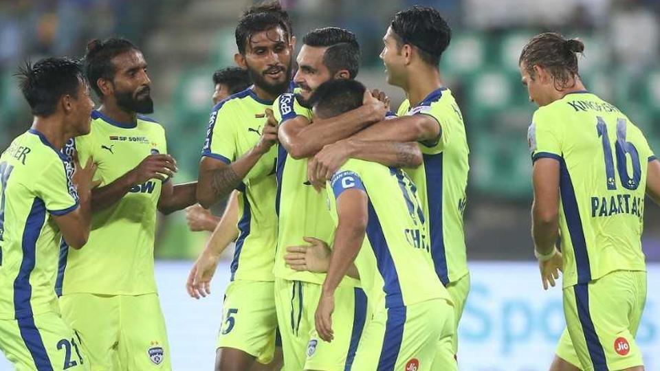Bengaluru FC defeated Chennaiyin FCin their Indian Super League (ISL) match in Chennai on Tuesday.