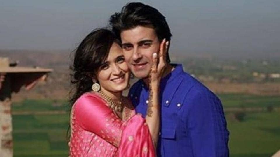 Gautam Rode and Pankhuri Awasthy are a picture of happiness.