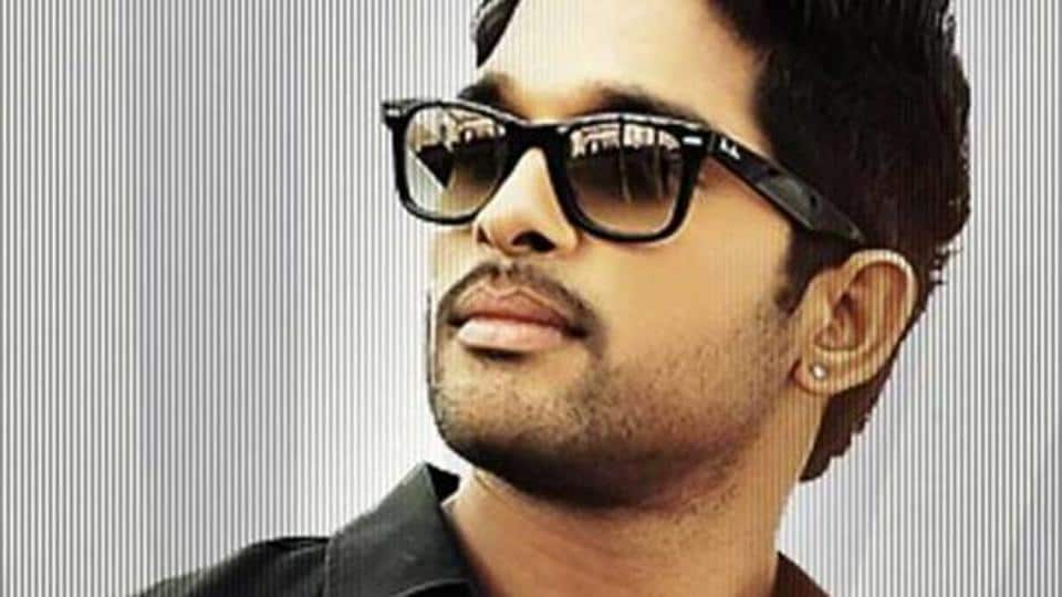 Braving Extreme Weather Conditions Allu Arjun Shoots For Naa Peru