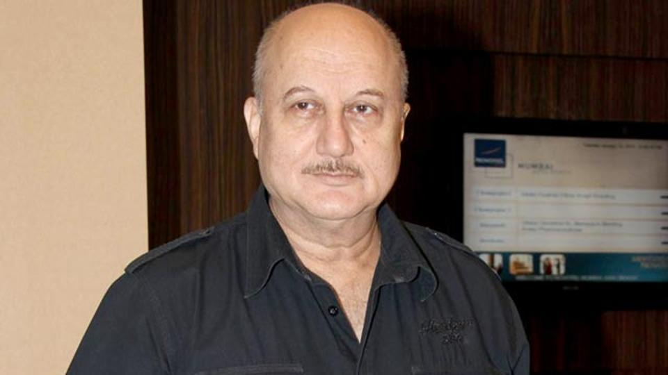 Anupam Kher is currently in Los Angeles.