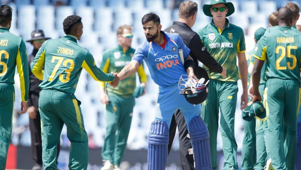 India have beaten South Africa in the first two ODIs to take a 2-0 lead in the six-match series.